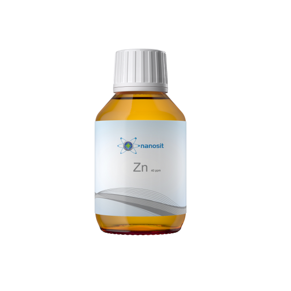 100 ml nanosit zinc colloïdal, 40 ppm