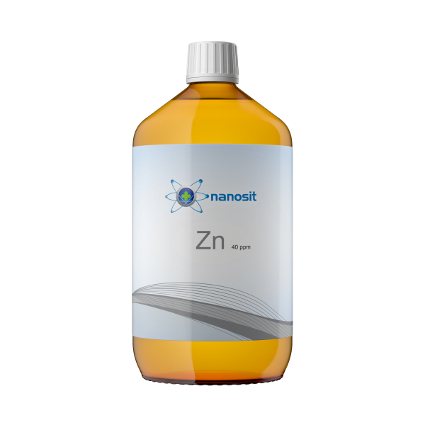1000 ml nanosit zinco colloidale, 40 ppm