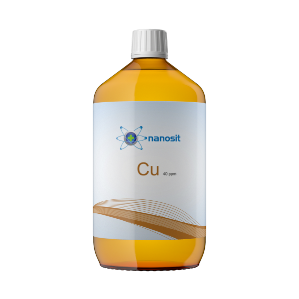 1000 ml nanosit colloidal copper, 40 ppm