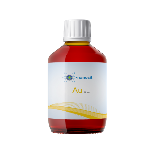 200 ml nanosit colloidal gold, 30 ppm