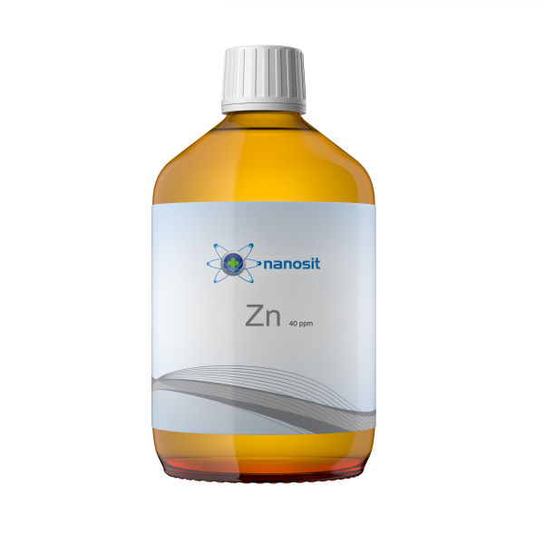 500 ml nanosit zinc coloidal, 40 ppm