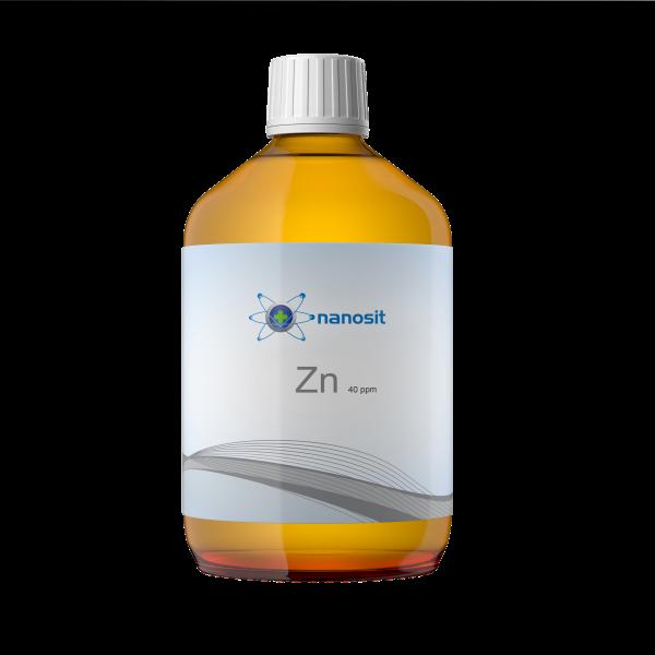 500 ml nanosit zinco colloidale, 40 ppm