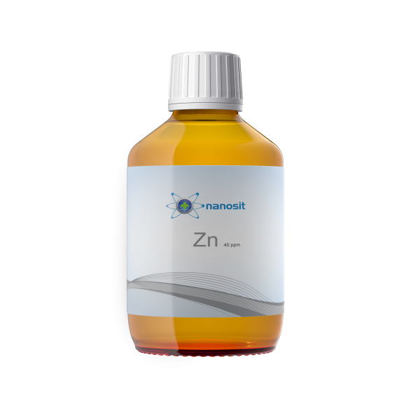 200 ml nanosit zinc colloïdal, 40 ppm
